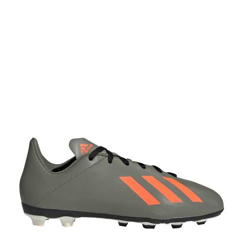 adidas performance X 19.4 voetbalschoenen groen-oranje