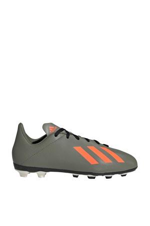 X 19.4 voetbalschoenen groen/oranje