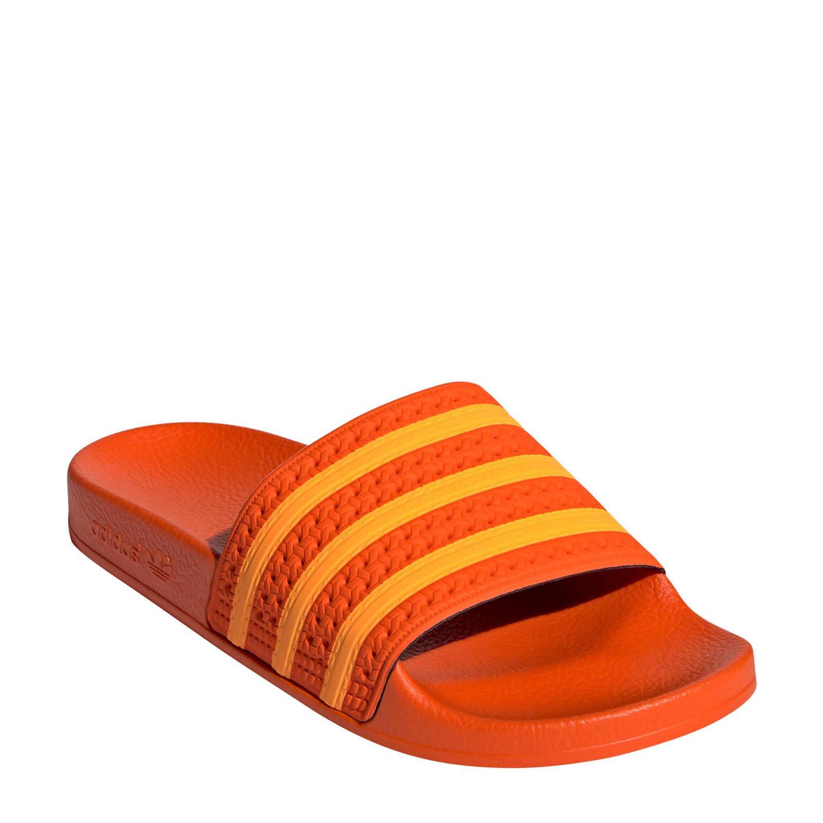Adilette W badslippers oranje