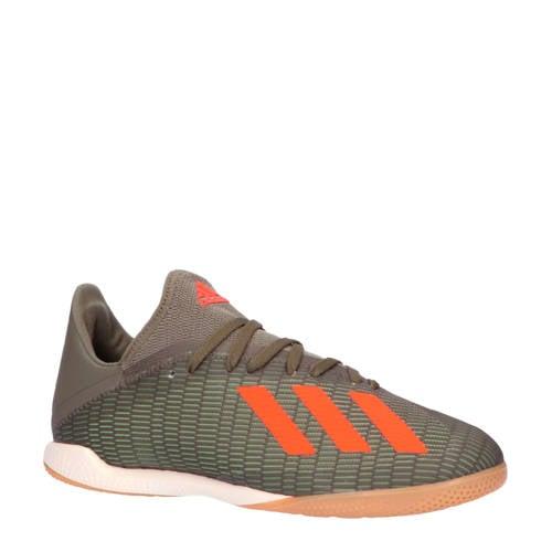 adidas performance X 19.3 IN X 19.3 zaalvoetbalschoenen legergroen-oranje