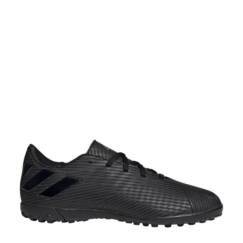 adidas  Nemeziz 19.4 FxG Nemeziz 19.4 TF J voetbalschoenen zwart, Zwart