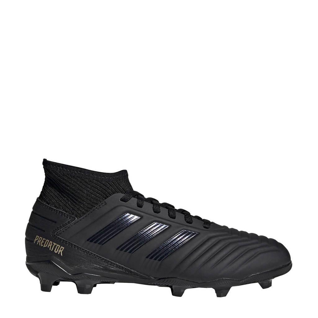 adidas   Predator 19.3 FG J voetbalschoenen zwart, Zwart