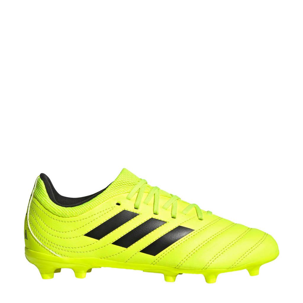 adidas   COPA 19.3 FG voetbalschoenen geel, Geel/zwart