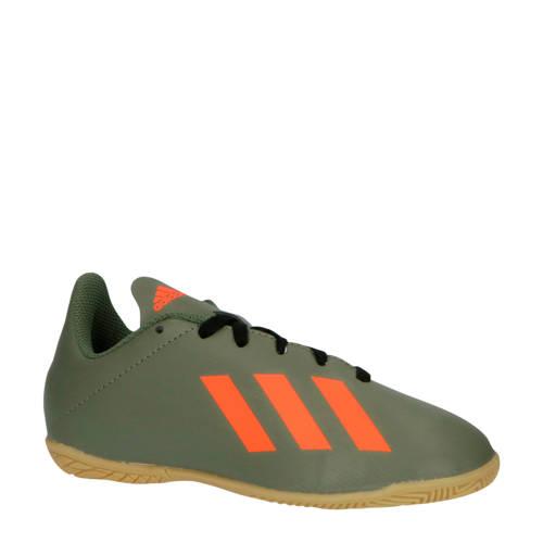 adidas performance X 19.4 IN X 19.4 IN J zaalvoetbalschoenen legergroen-oranje