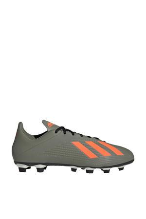 X 19.4 FxG voetbalschoenen kaki/oranje