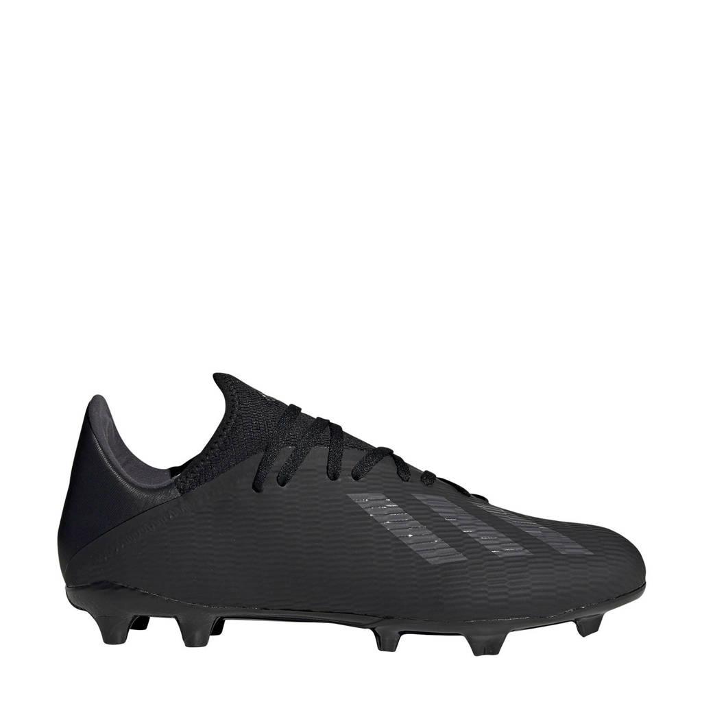 adidas Performance  Nemeziz 19.4 FxG X 19.3 FG voetbalschoenen zwart, Zwart