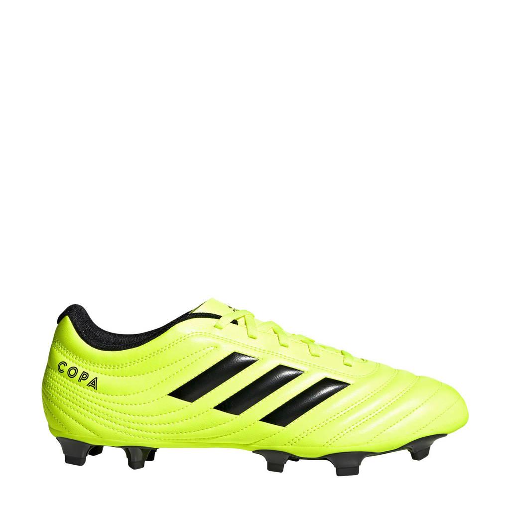 adidas   Copa 19.4 FG voetbalschoenen geel, Geel/zwart