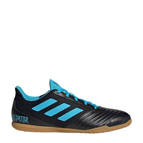 adidas performance Predator 19.4 IN zaalvoetbalschoenen zwart-lichtblauw