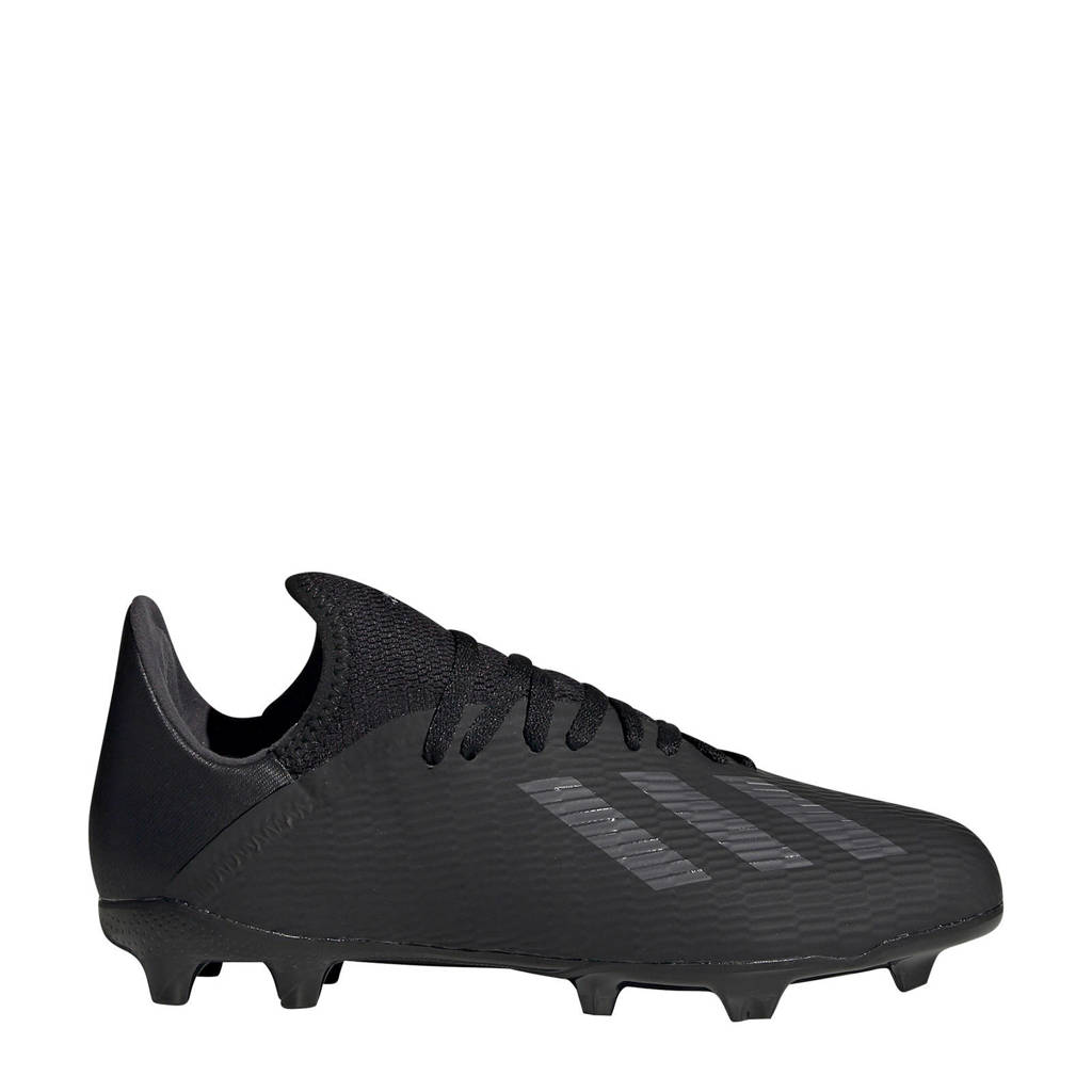 adidas  Nemeziz 19.4 FxG X 19.3 FG  J voetbalschoenen zwart, Zwart