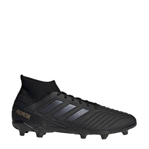 adidas Predator 19.3 fg voetbalschoenen zwart Dames