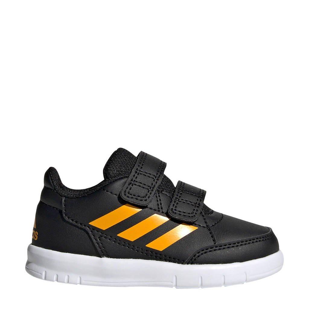 adidas  Altasport CF I AltaSport CF I sportschoenen zwart/geel kids, Zwart/geel