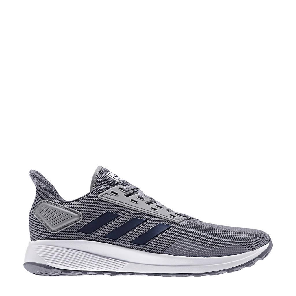 adidas   Duramo 9 hardloopschoenen grijs/zwart, Grijs/zwart, Heren