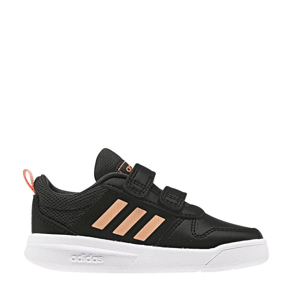 adidas   Tensaur I sportschoenen zwart/roze kids, Zwart/roze
