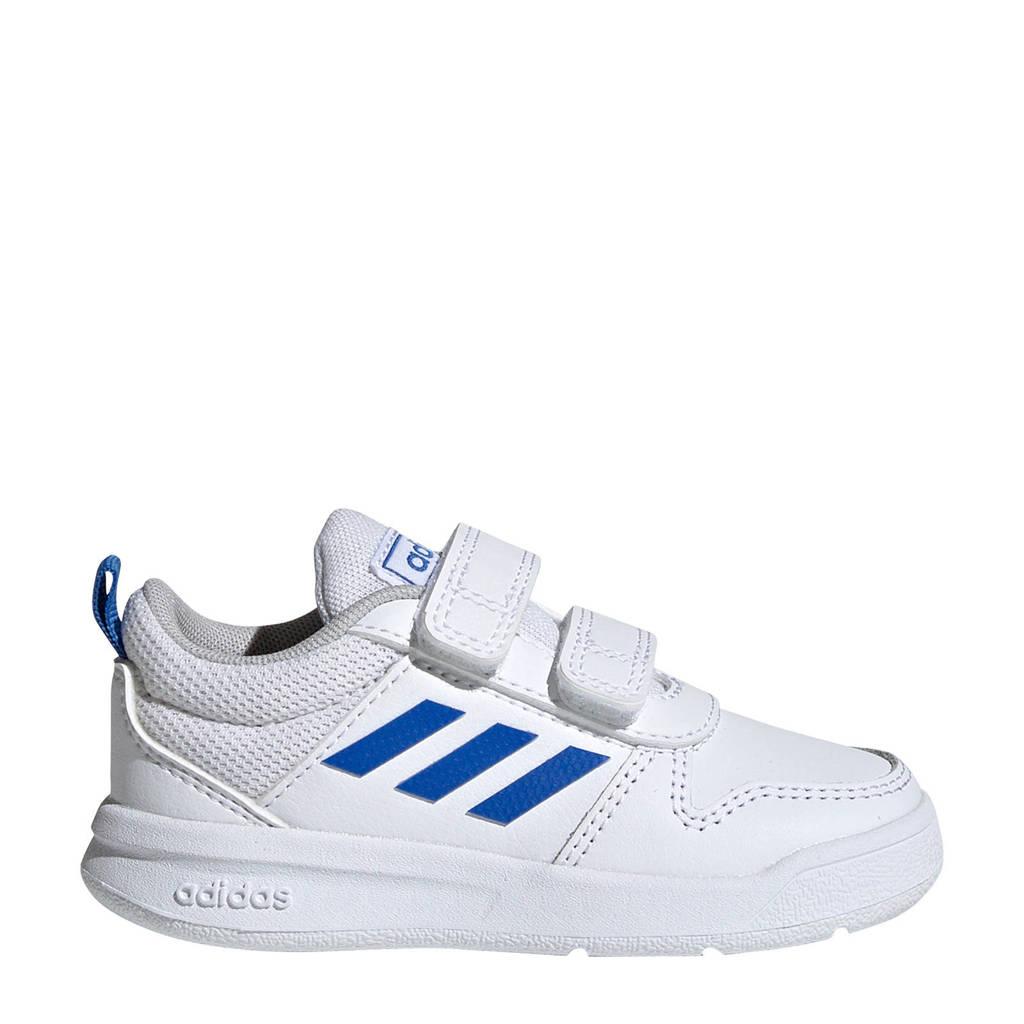 adidas Performance   Tensaur I sportschoenen wit/blauw kids, Wit/blauw