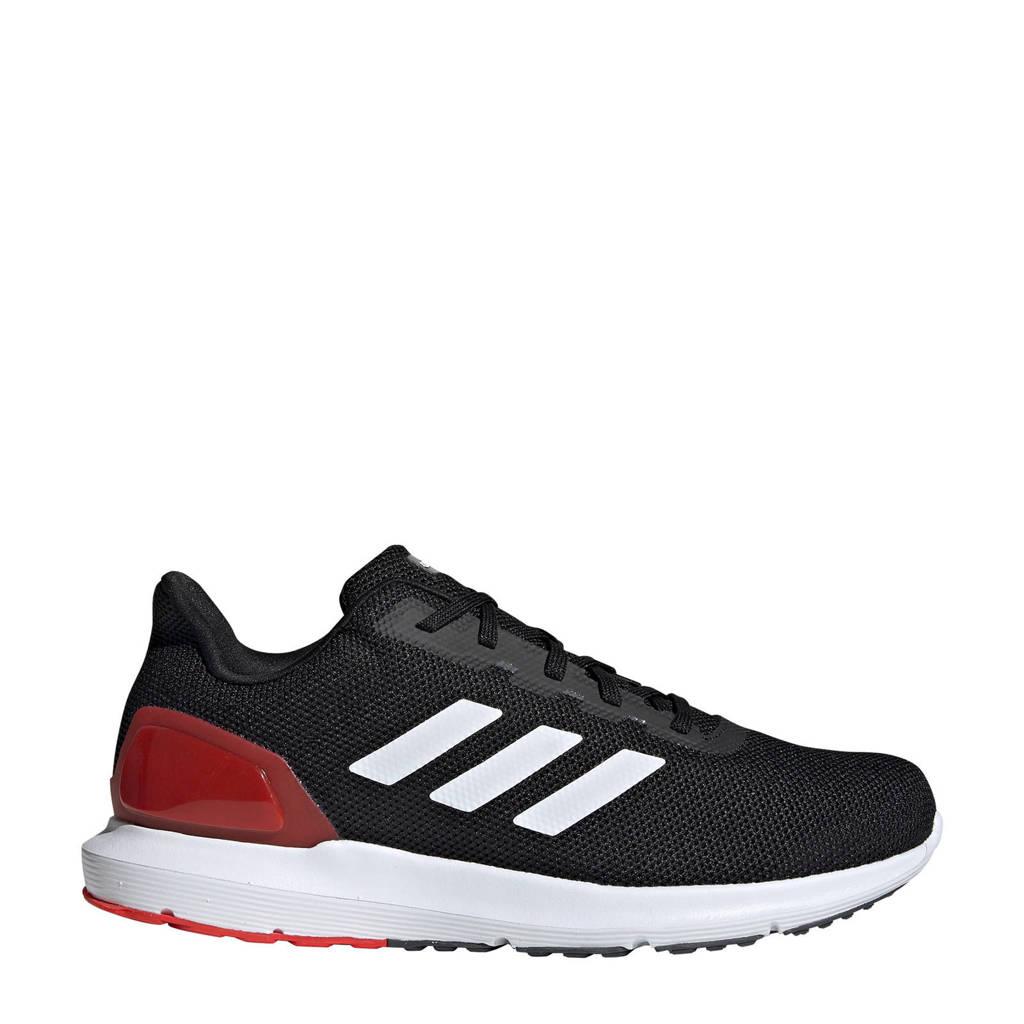 adidas performance   Cosmic 2 hardloopschoenen, Zwart/wit/rood