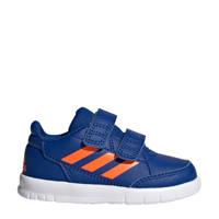 adidas  Altasport CF I sportschoenen blauw/oranje kids, Blauw/oranje