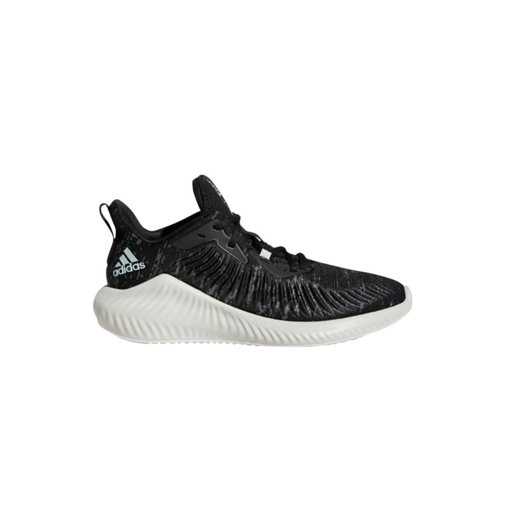 adidas performance Parley Alphabounce+ hardloopschoenen zwart/wit, Zwart/wit