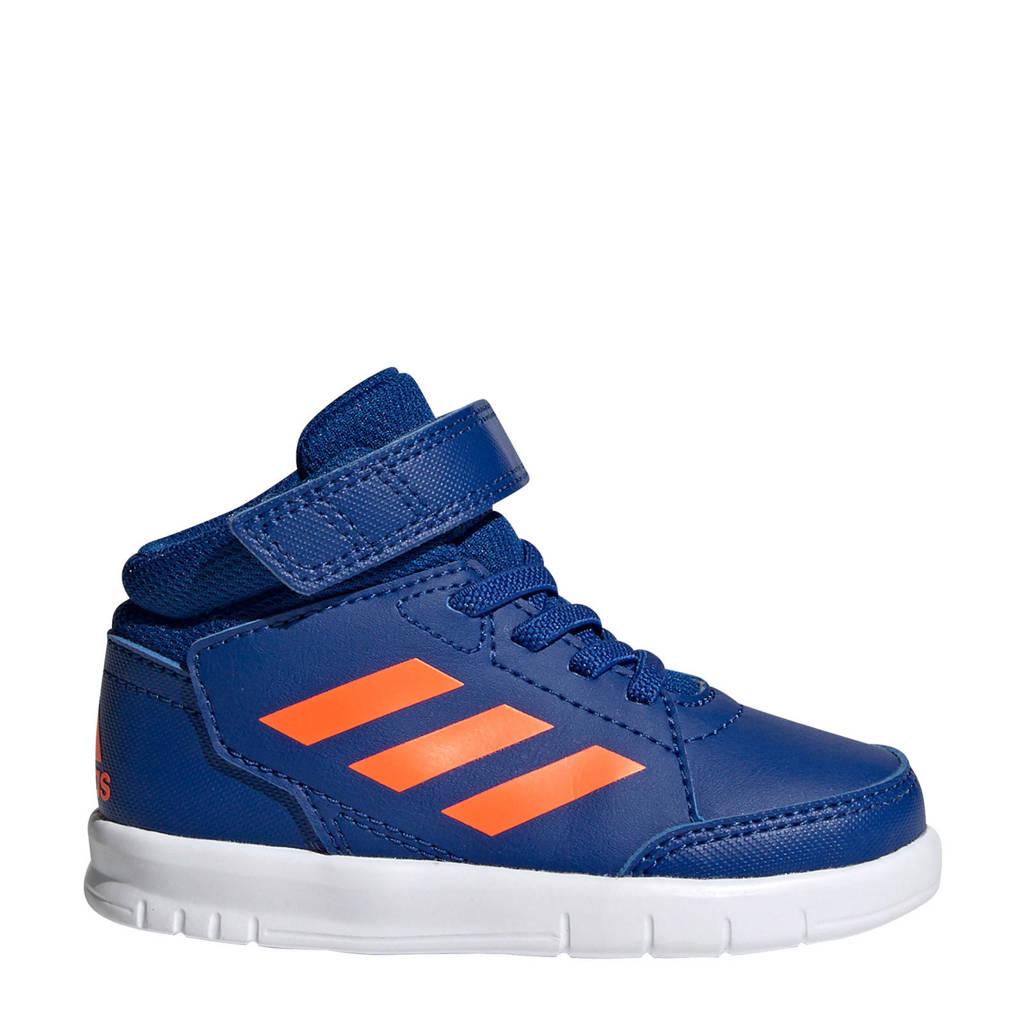 adidas  AltaSport Mid I AltaSport Mid I sportschoenen blauw/oranje kids, Blauw/oranje