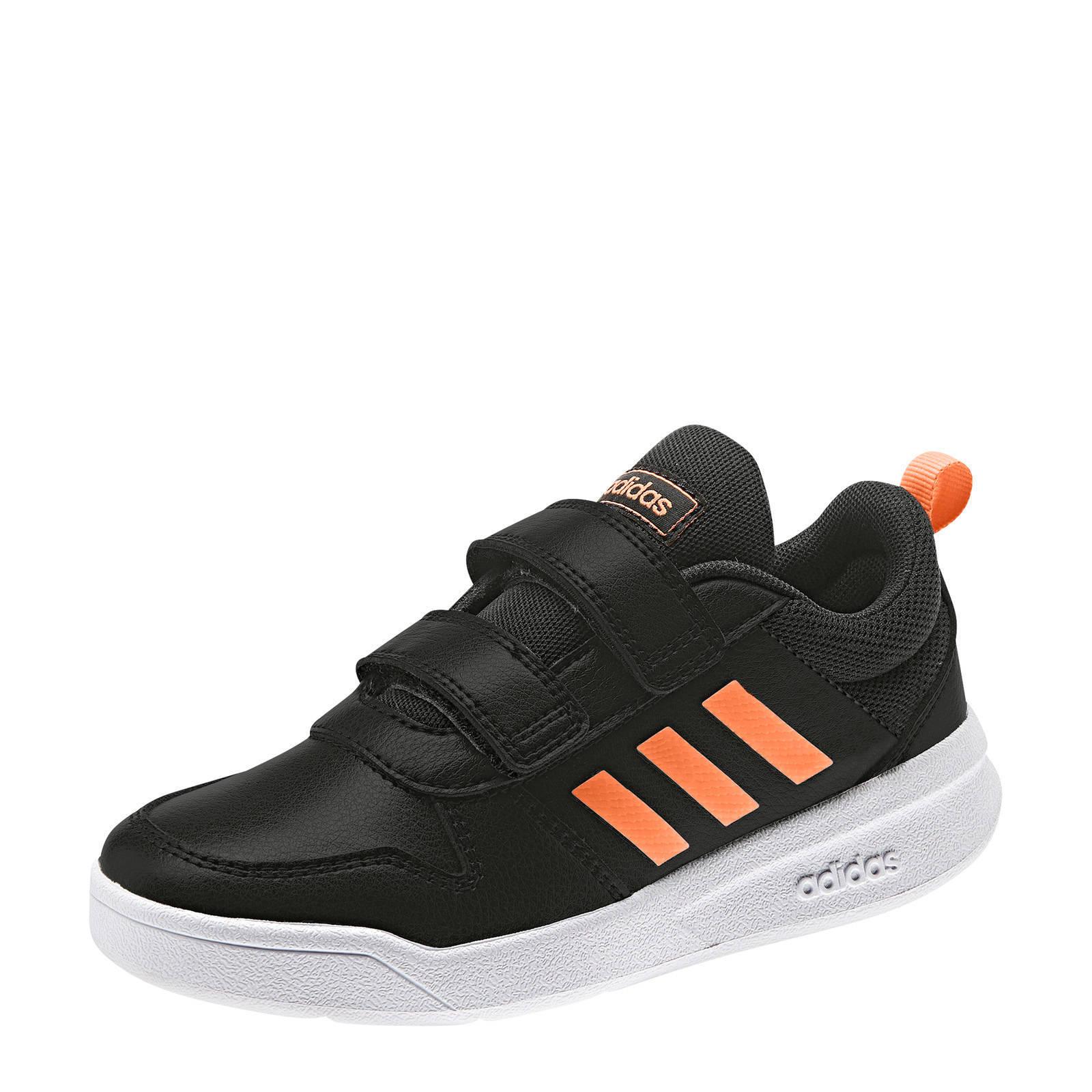 adidas Performance Tensaur C sportschoenen zwartgroen kids
