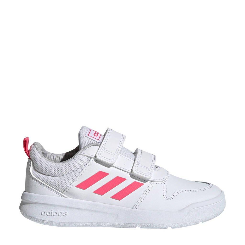 adidas Performance   Tensaur C sportschoenen wit/roze, Wit/roze