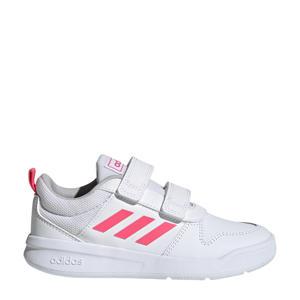 Tensaur C sportschoenen wit/roze