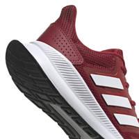 adidas Performance   Runfalcon hardloopschoenen donkerrood kids, Donkerrood/wit, Jongens/meisjes