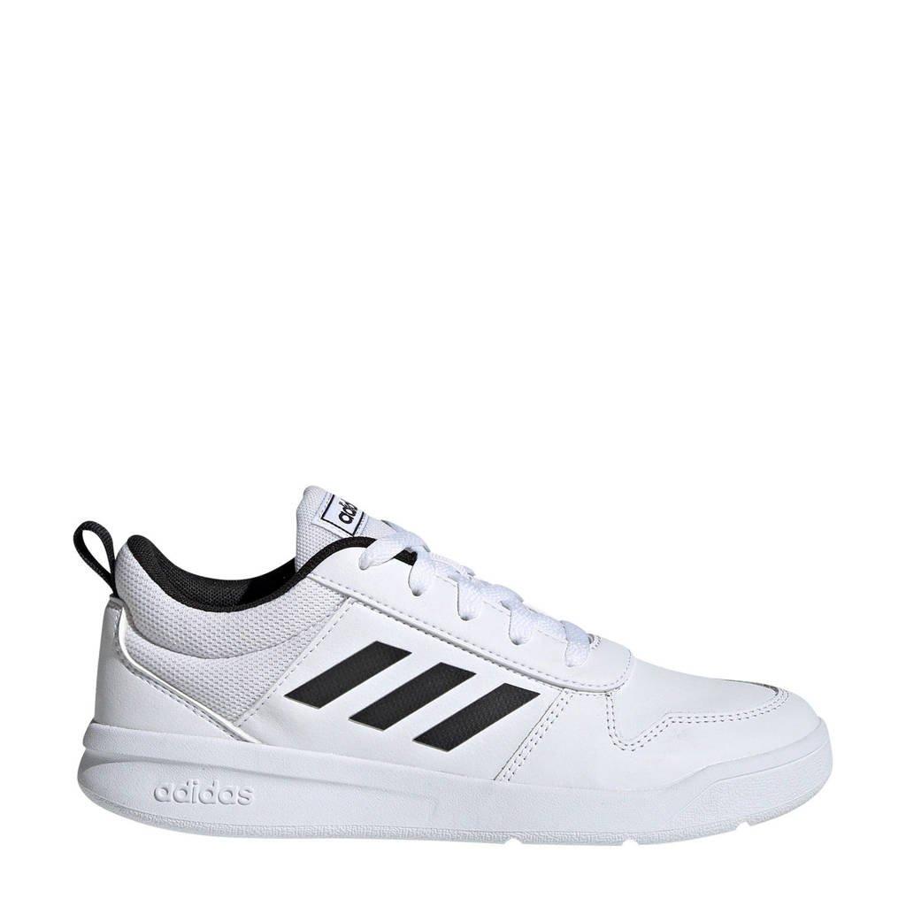 adidas   Tensaur K sportschoenen wit/zwart kids, Wit/zwart