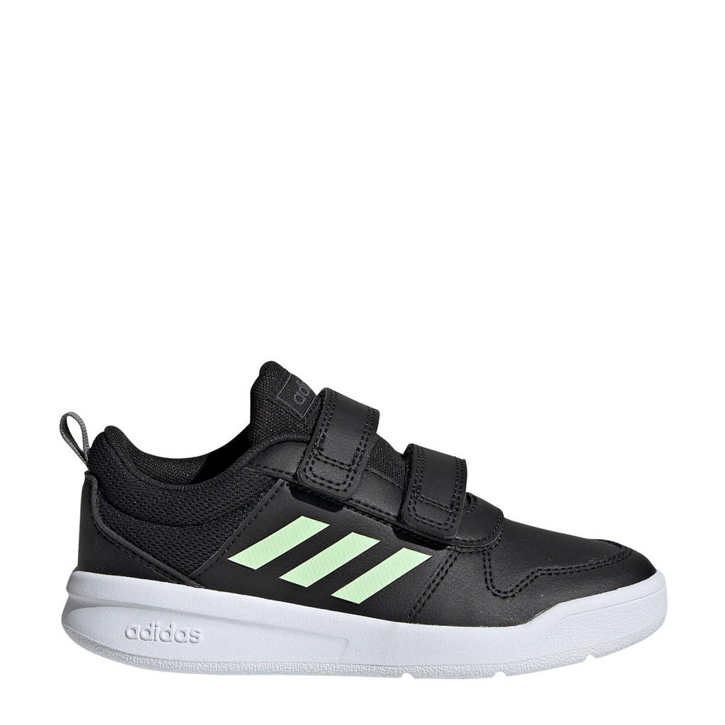 adidas   Tensaur C sportschoenen zwart/groen kids, Zwart/groen