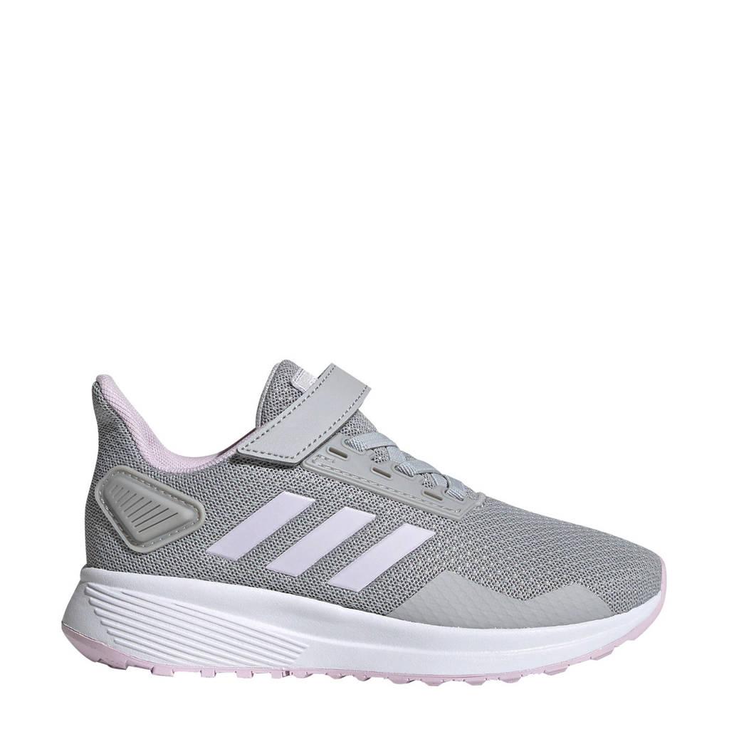 adidas   Duramo 9 C hardloopschoenen grijs/wit kids, Grijs/wit