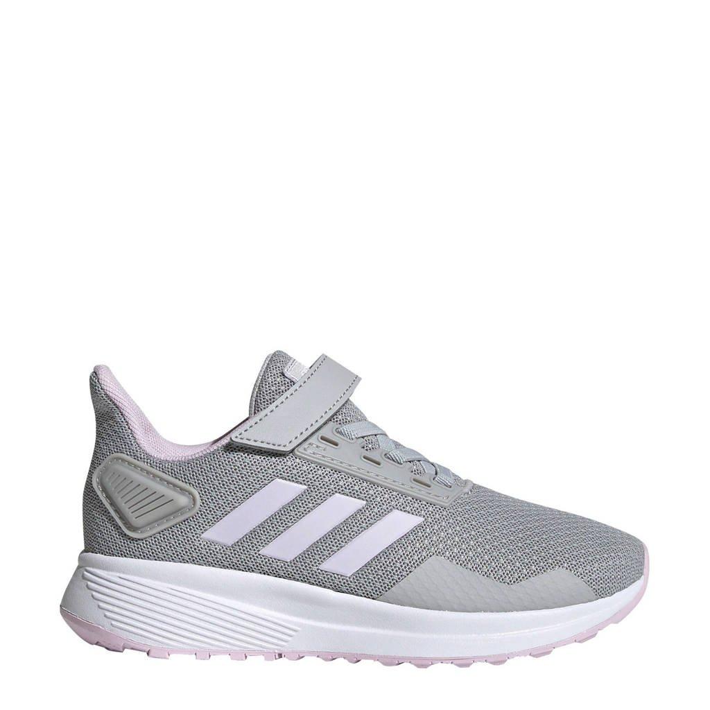 adidas performance   Duramo 9 C hardloopschoenen grijs/wit kids, Grijs/wit