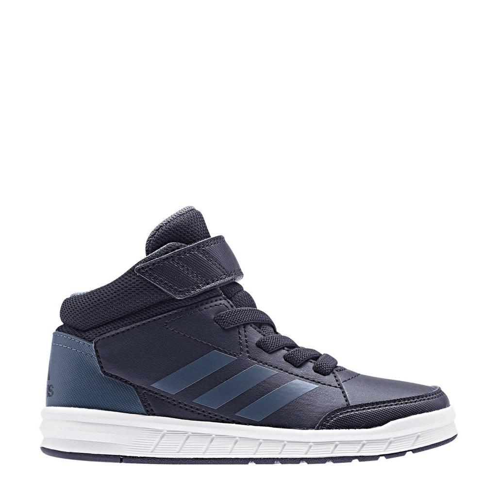 adidas  AltaSport Mid K sportschoenen grijsblauw kids, Grijsblauw/donkerblauw