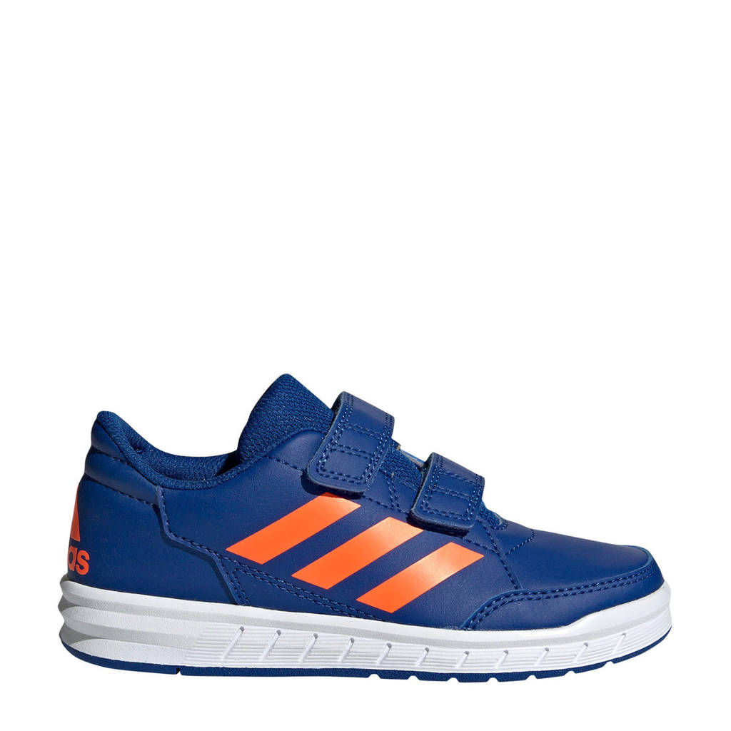 adidas   AltaSport CF K sportschoenen blauw/oranje kids, Blauw/oranje
