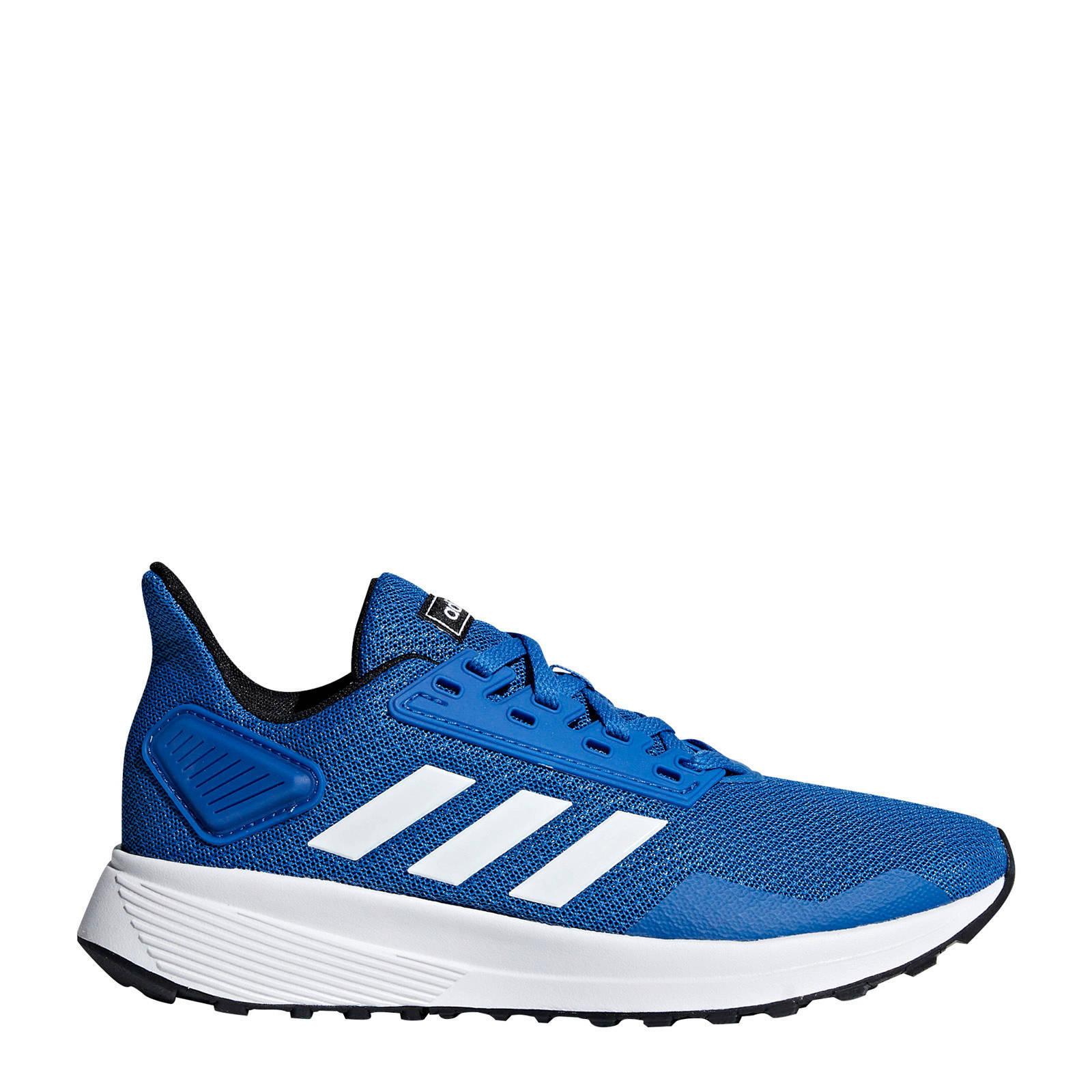 adidas Duramo 9 K hardloopschoenen blauwwit kids
