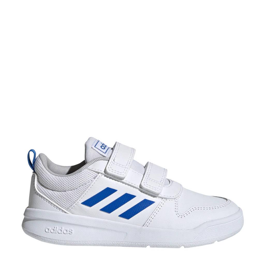 adidas Performance   Tensaur C sportschoenen wit/blauw kids, Wit/blauw
