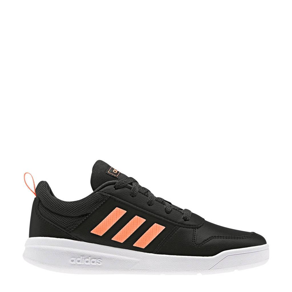 adidas performance   Tensaur K sportschoenen zwart/roze kids, Zwart/roze