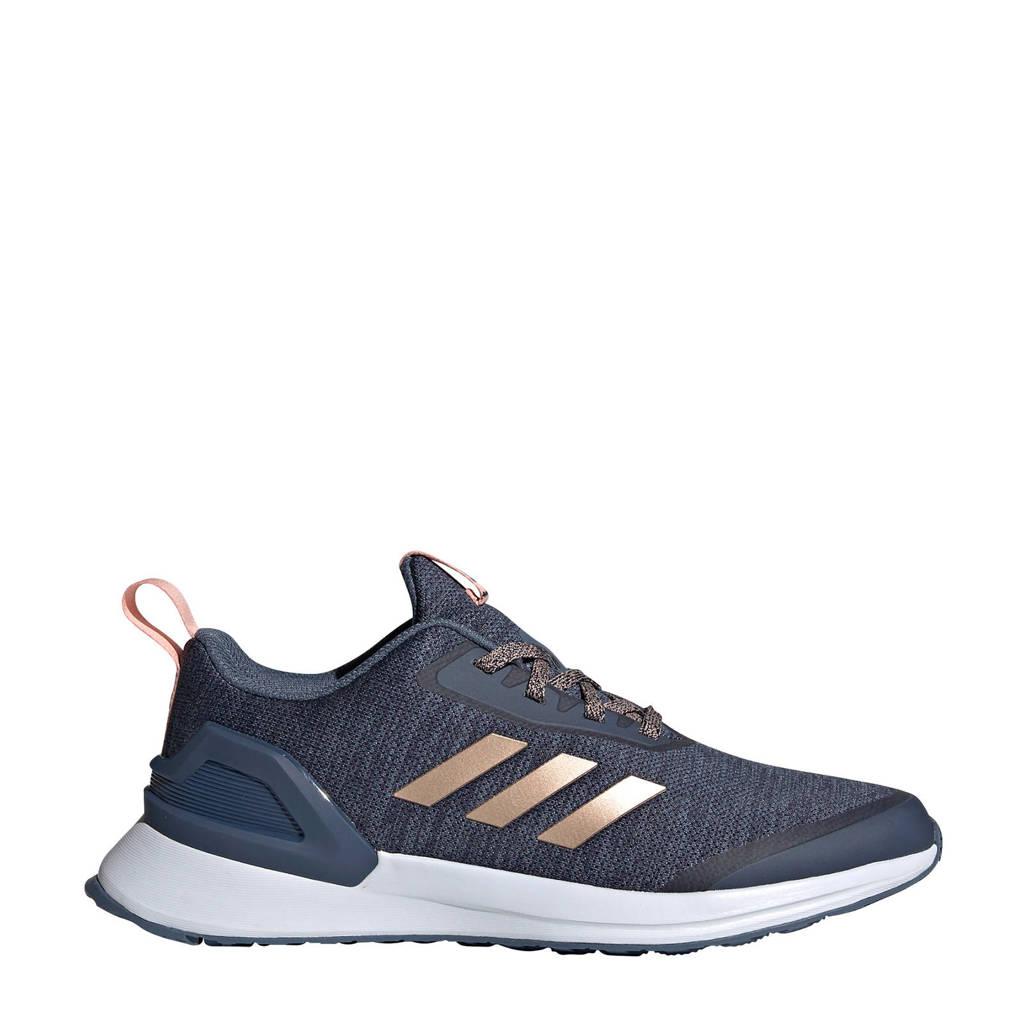 adidas Performance   RapidaRun X J hardloopschoenen grijsblauw kids, Grijsblauw
