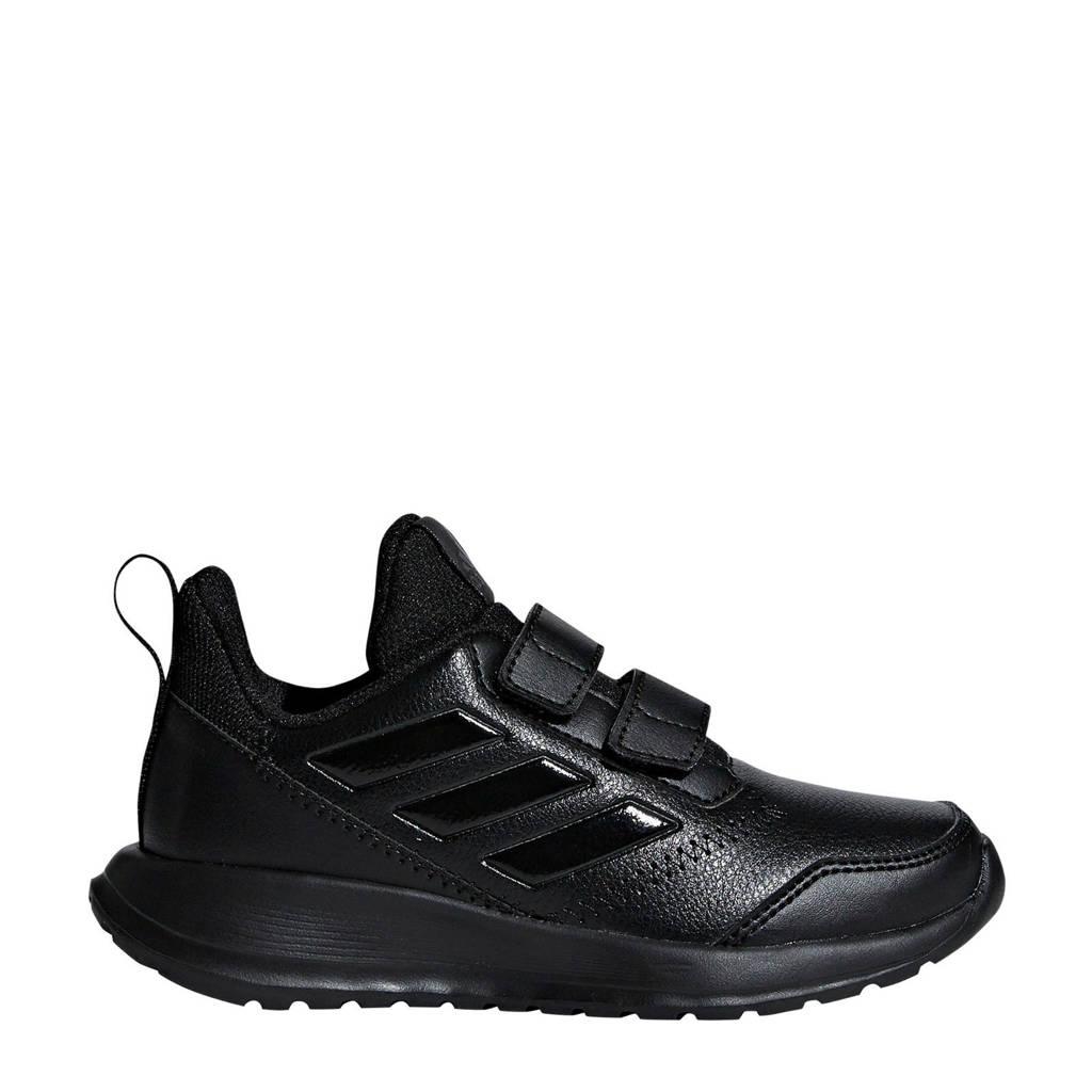 adidas   AltaRun CF K sportschoenen zwart kids, Zwart, Klittenband