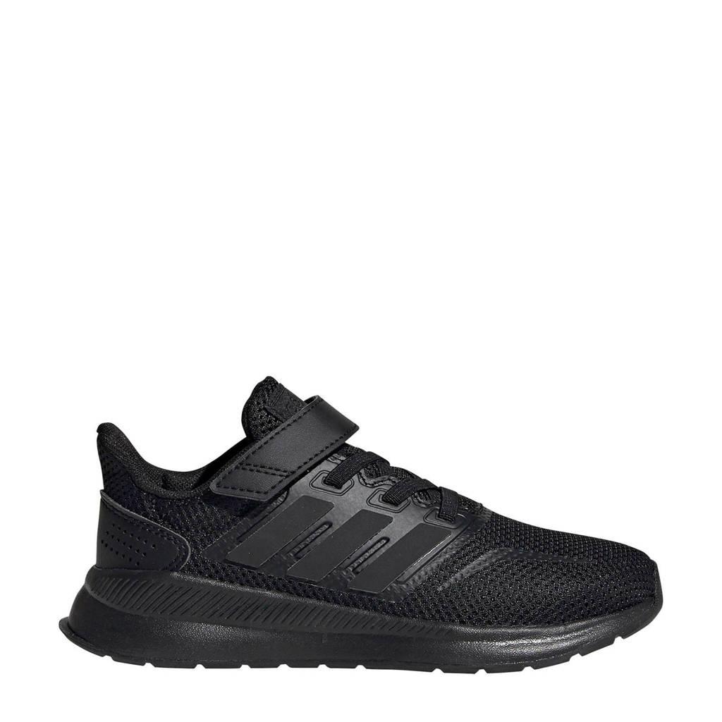 adidas Performance  Runfalcon C Runfalcon C hardloopschoenen zwart kids, Zwart