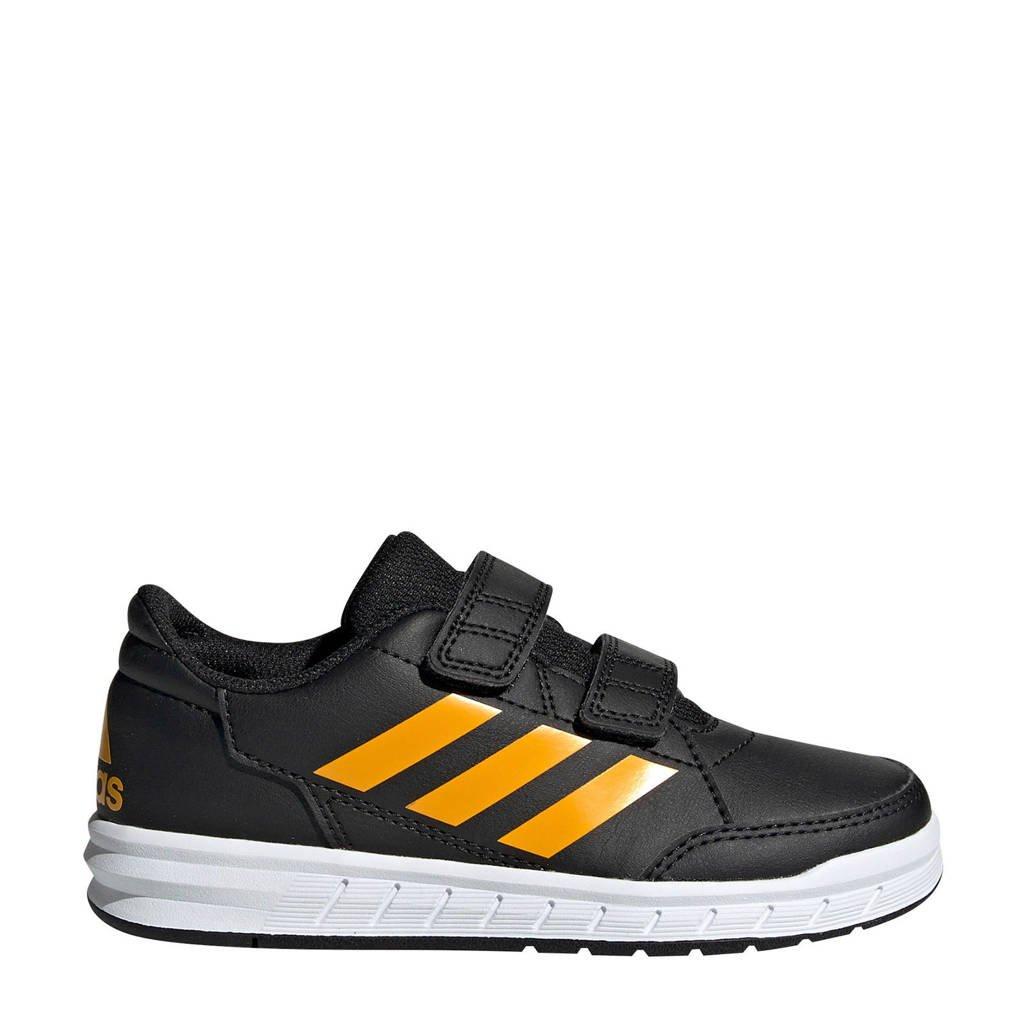 adidas  AltaSport CF K  AltaSport CF K  sportschoenen zwart/geel kids, Zwart/geel