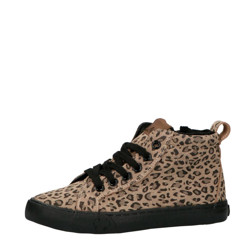 Go4It   Davy sneakers panterprint, Bruin