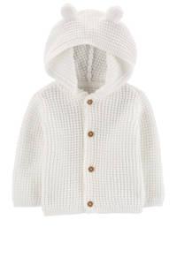 Carter's baby vest met 3D applicatie ecru, Ecru