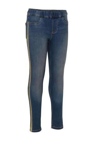 skinny jeans met zijstreep