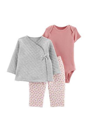 baby vest + broek + romper