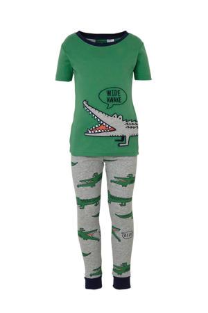 pyjama met krokodillen - set van 2