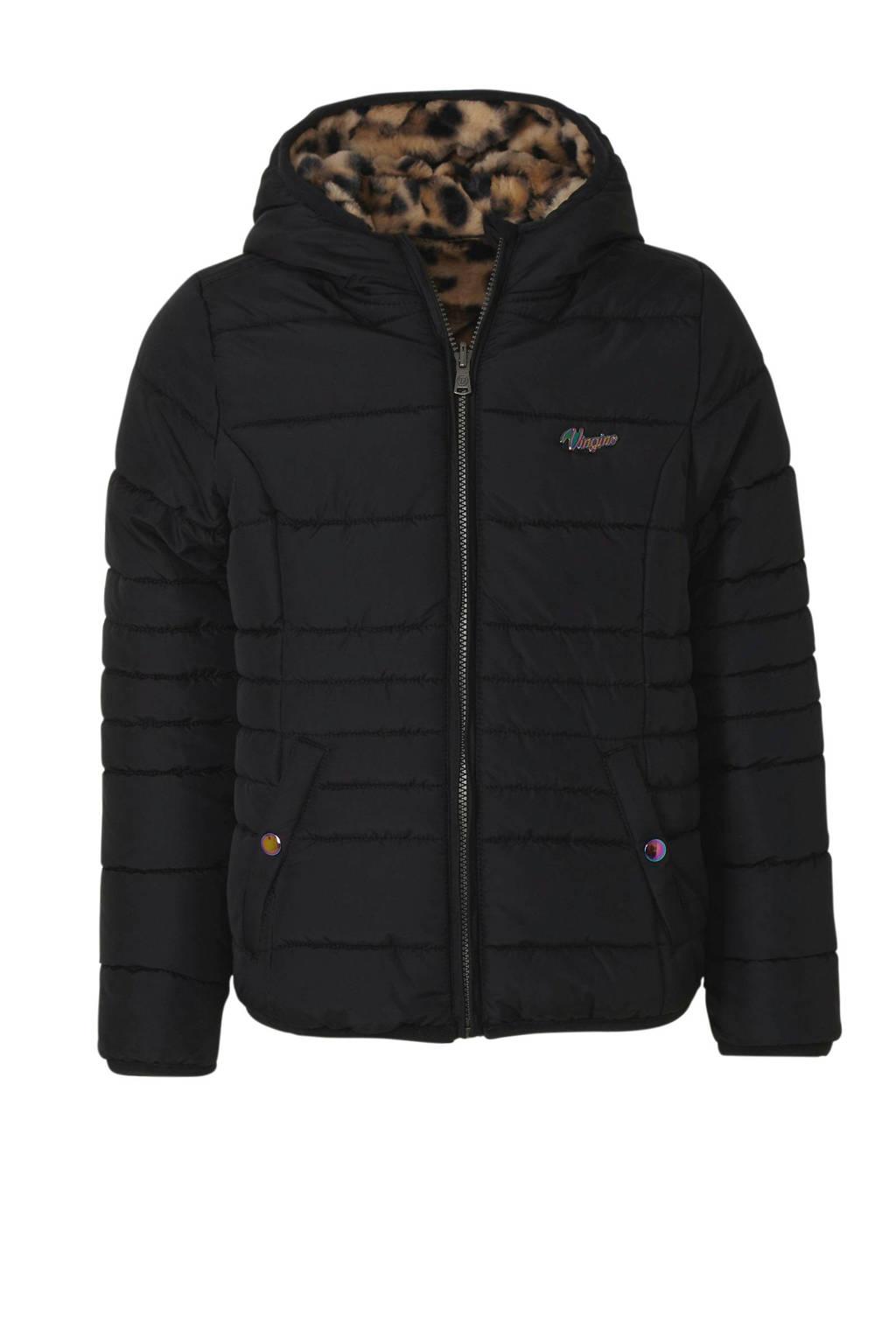 Vingino winterjas zwart, Zwart