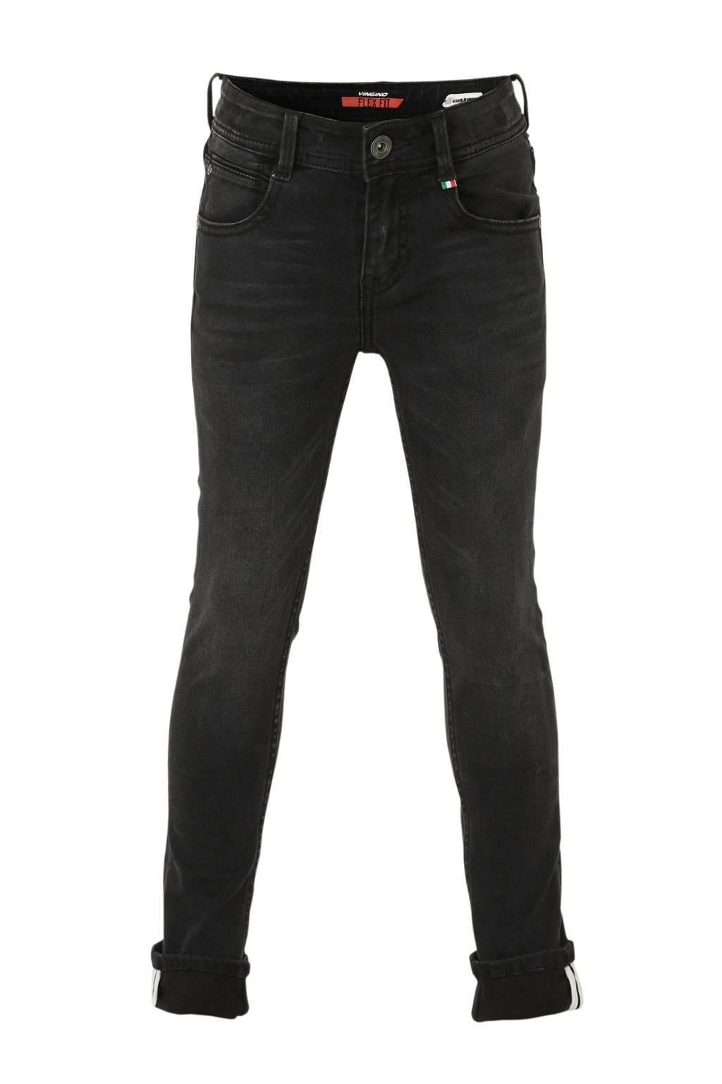 Vingino skinny jeans Apache, Black Vintage