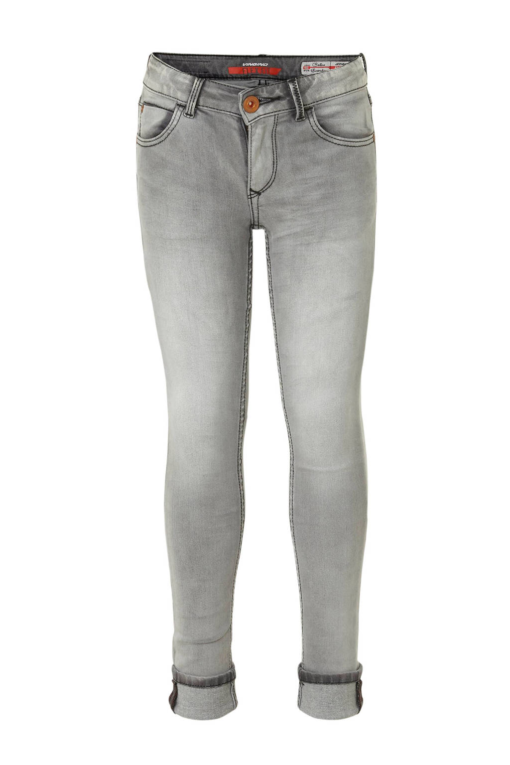 Vingino skinny jeans Bettine, Dark grey vintage