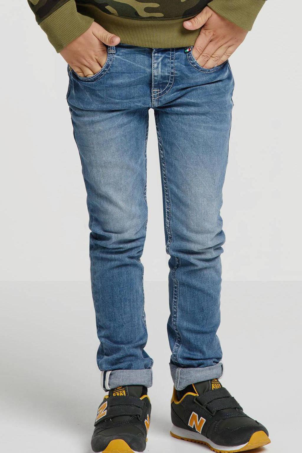 Vingino skinny jeans Apache, Mid blue