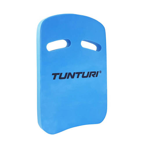 Tunturi Zwemplankje - Kickboard - Blauw/Wit