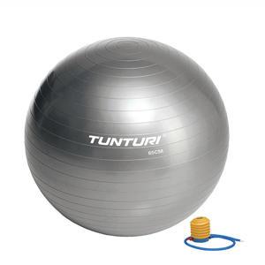Fitnessbal - Gymball - Swiss ball -  Ø 65 cm - Inclusief pomp - Zilver